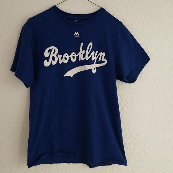 promo code 2226a e8338 Jackie Robinson 42 MLB Brooklyn Dodgers Tee Mens M
